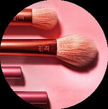 Shop makeup brushes