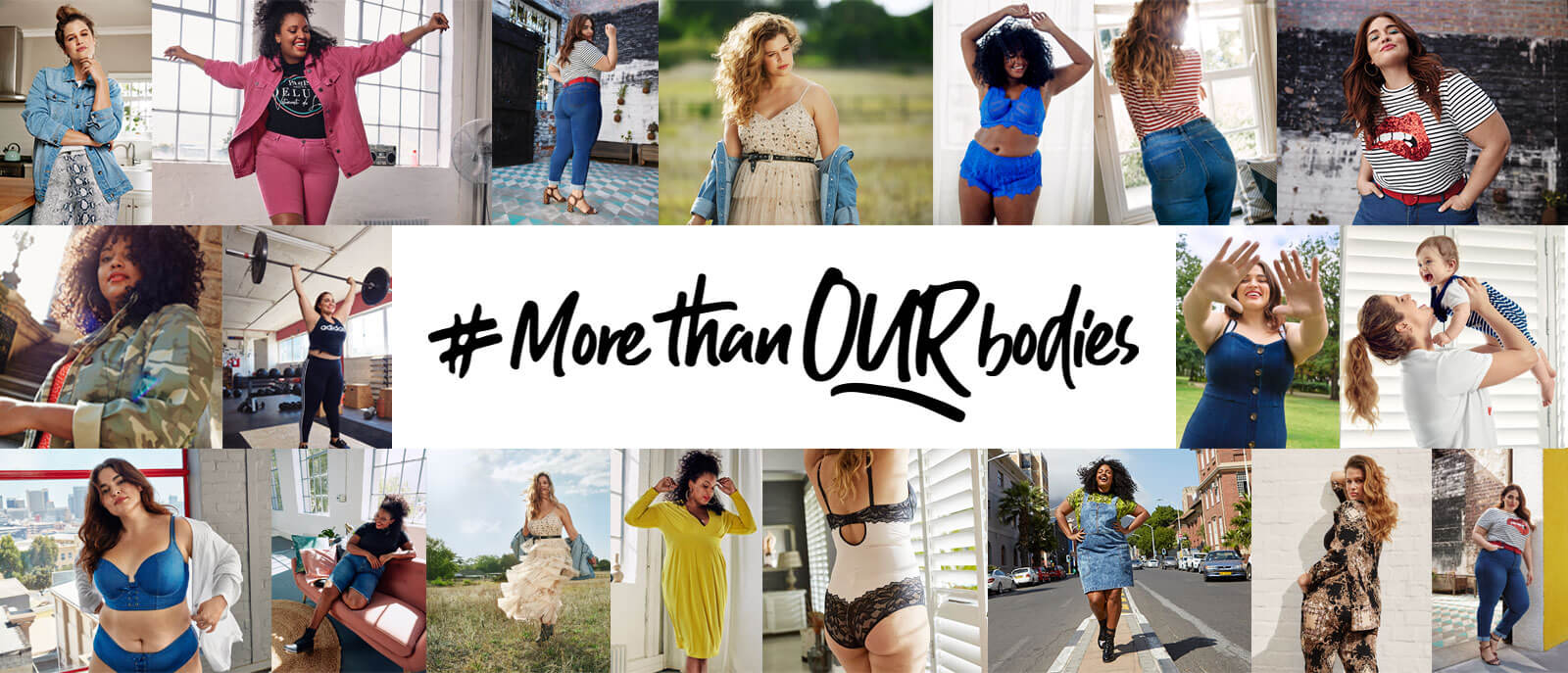 More Than Our Bodies | The Spring Campaign