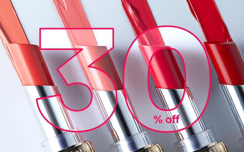 30% off L'Oréal