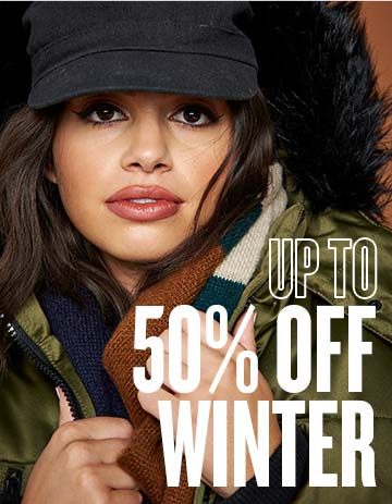 up to 50% off Winter