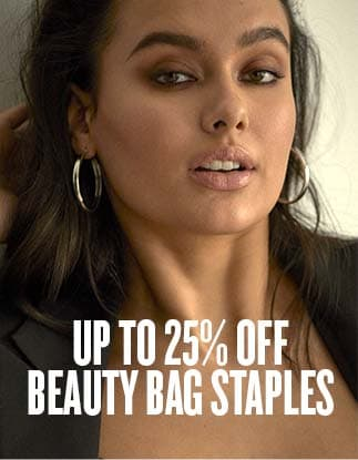 up to 25% off beauty