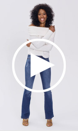 Eve bootcut jeans video