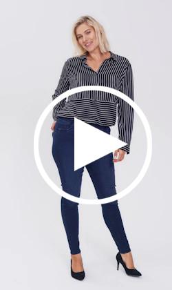 Amber jegging jeans video