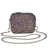 Mini Glitter Shoulder Bag