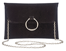 Sophie Red Ring Clutch Detail Bag