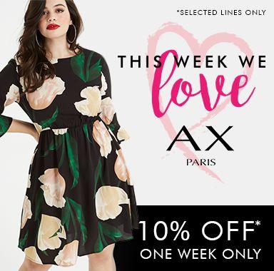 10% off AX Paris