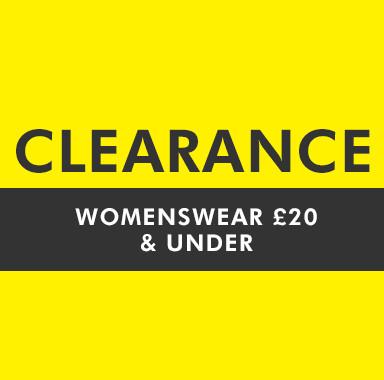 Womenswear £15 & Under