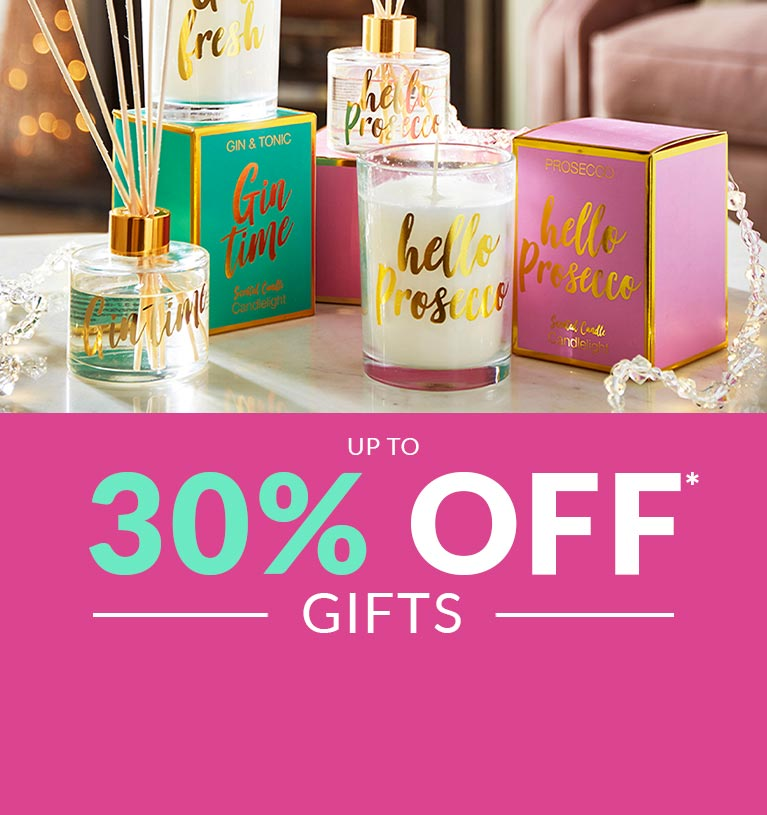 Up to 30% Off* Gifts