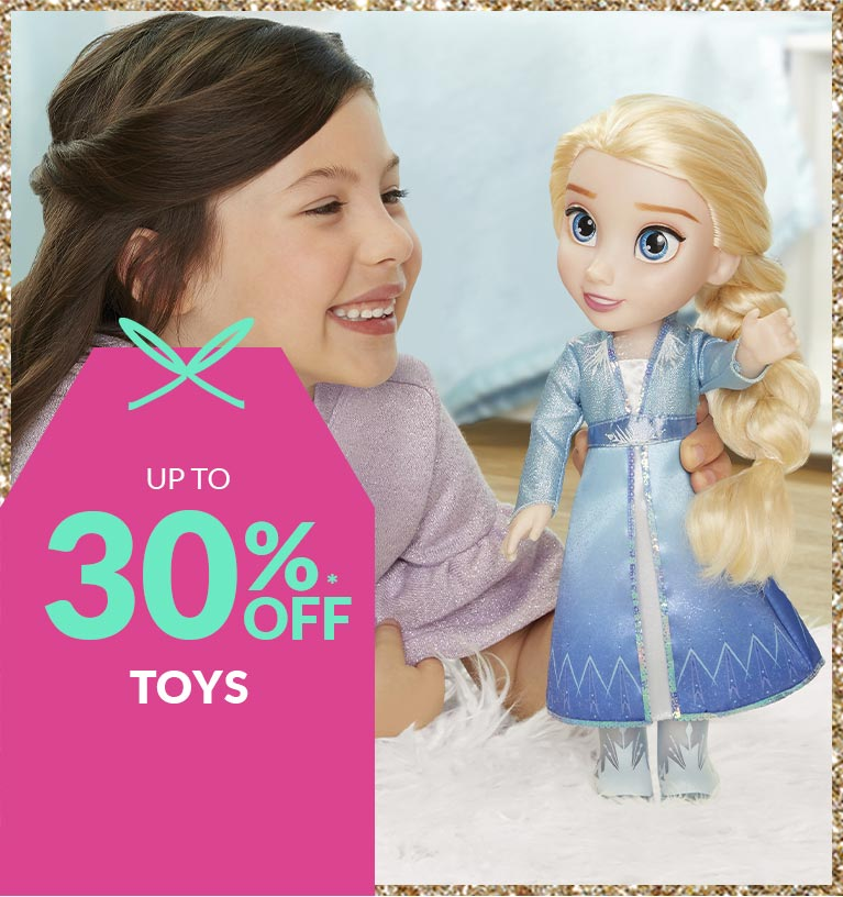 Shop up to 30% off toys