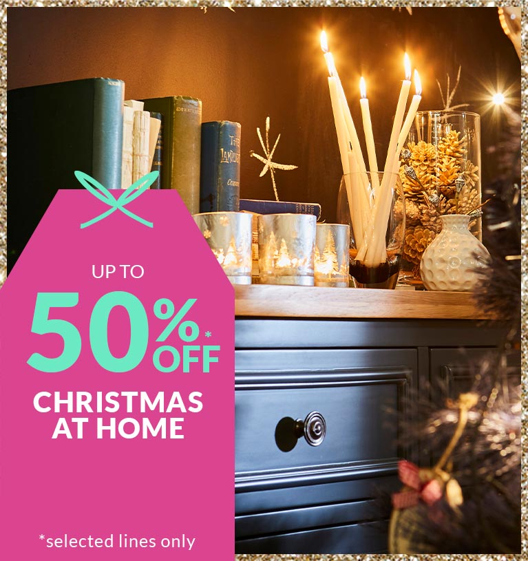 Shop up to 60% off Christmas at Home