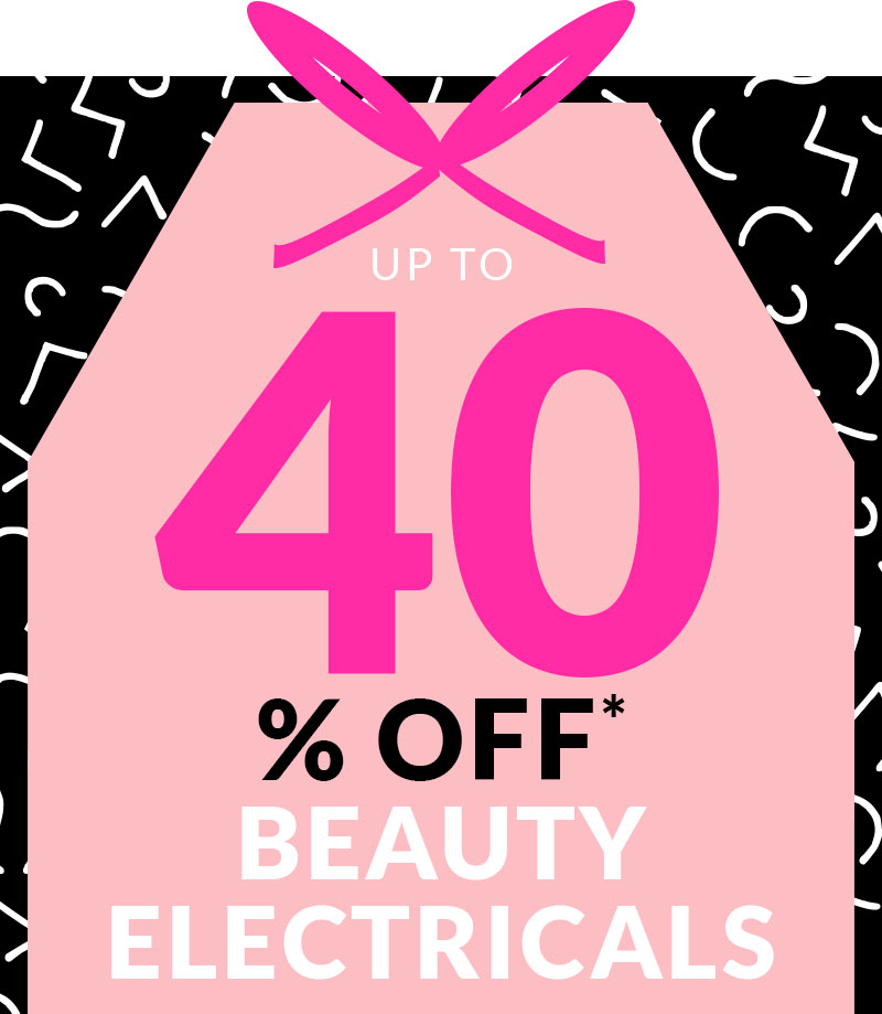 Up to 40% Off Beauty Electricals