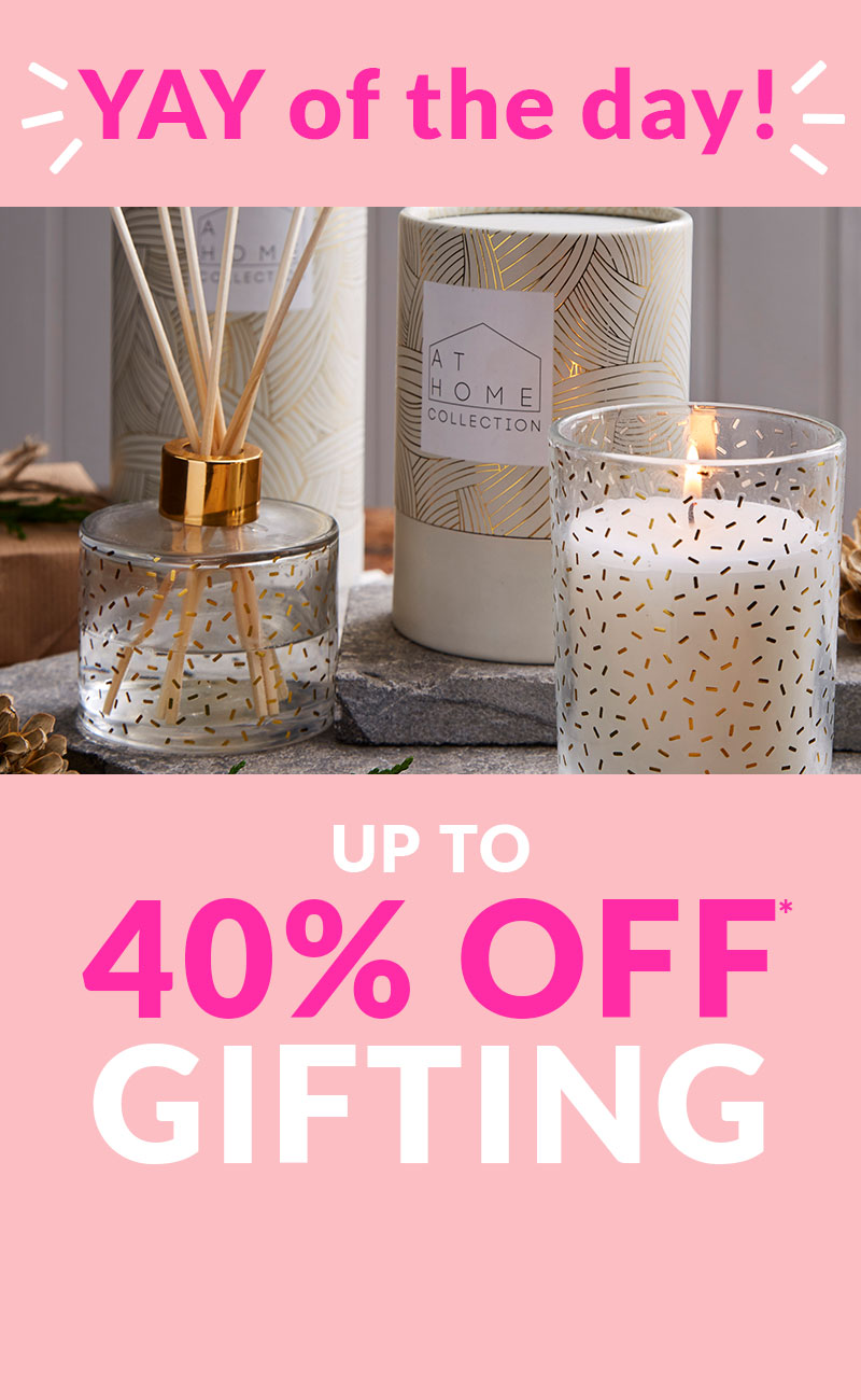 Shop 40% Off gifting