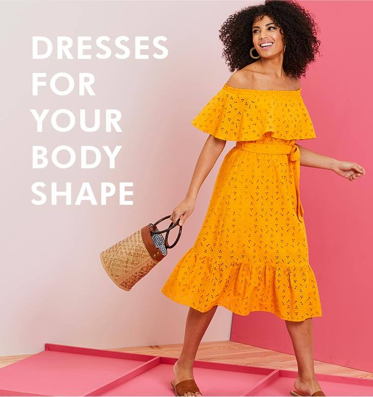 Dresses for your body shape