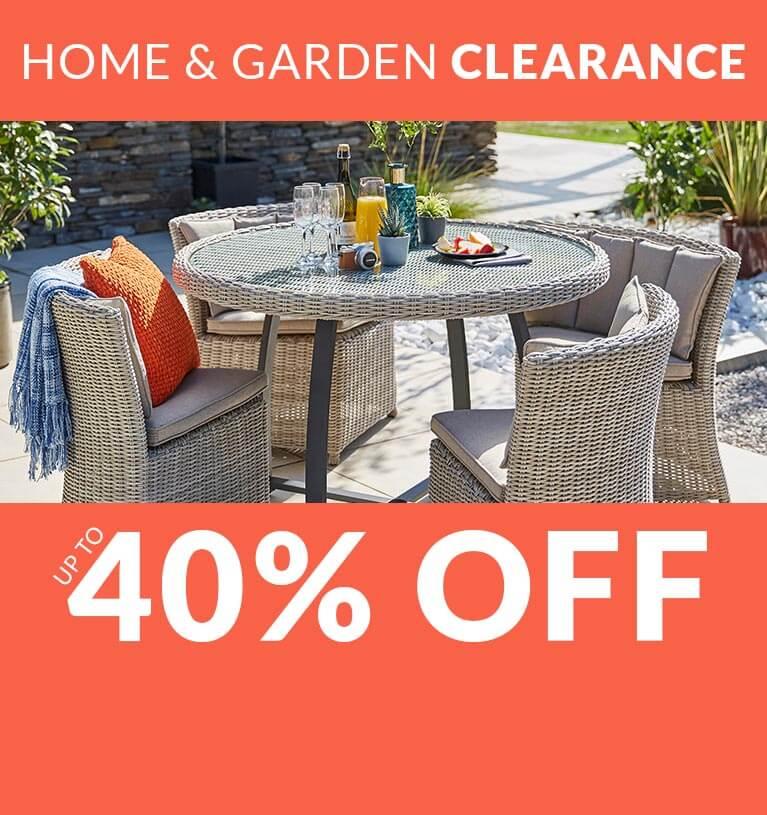 Shop Home & Garden Clearance