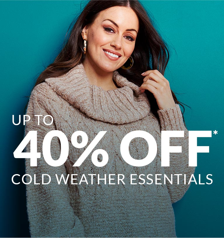 Up to 40% Off Cold Weather Essentials