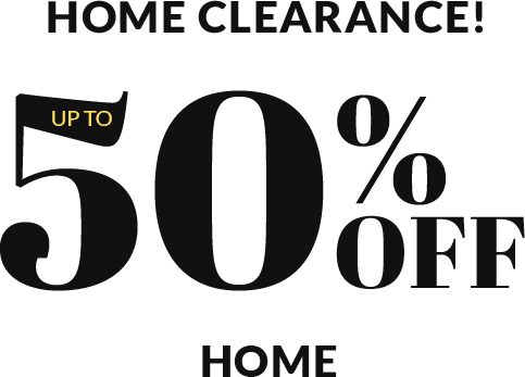 Final Clearance - Up to 50% Off Home