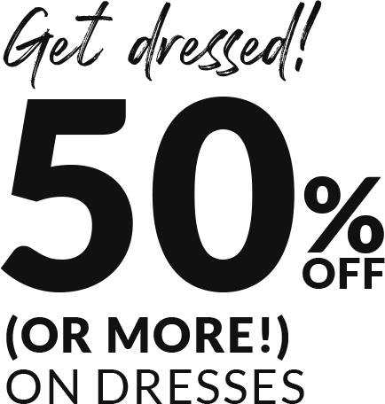 Dresses - 50% Off Or More