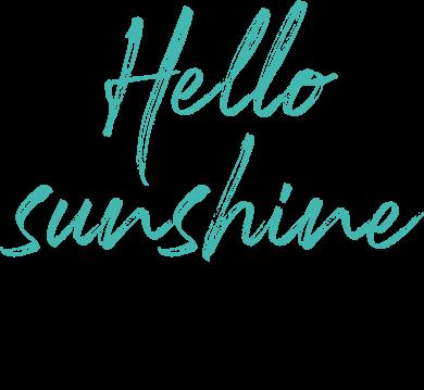 Hello Sunshine. Summer Shop £25 and Under.
