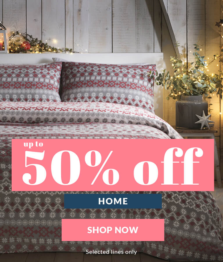 Up to 50% off home