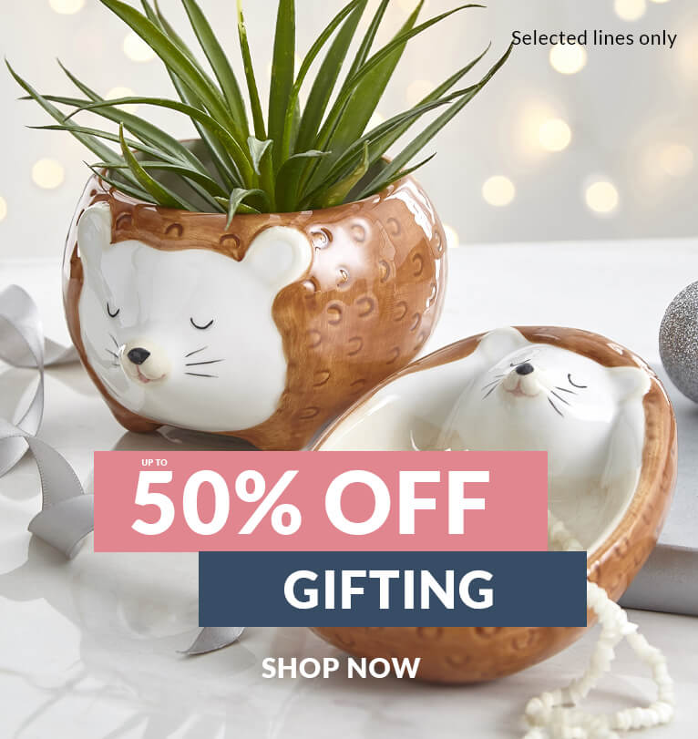 Up to 50% Off Gifting