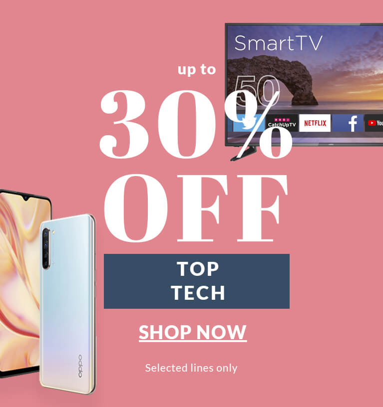Up to 30% Off Top Tech
