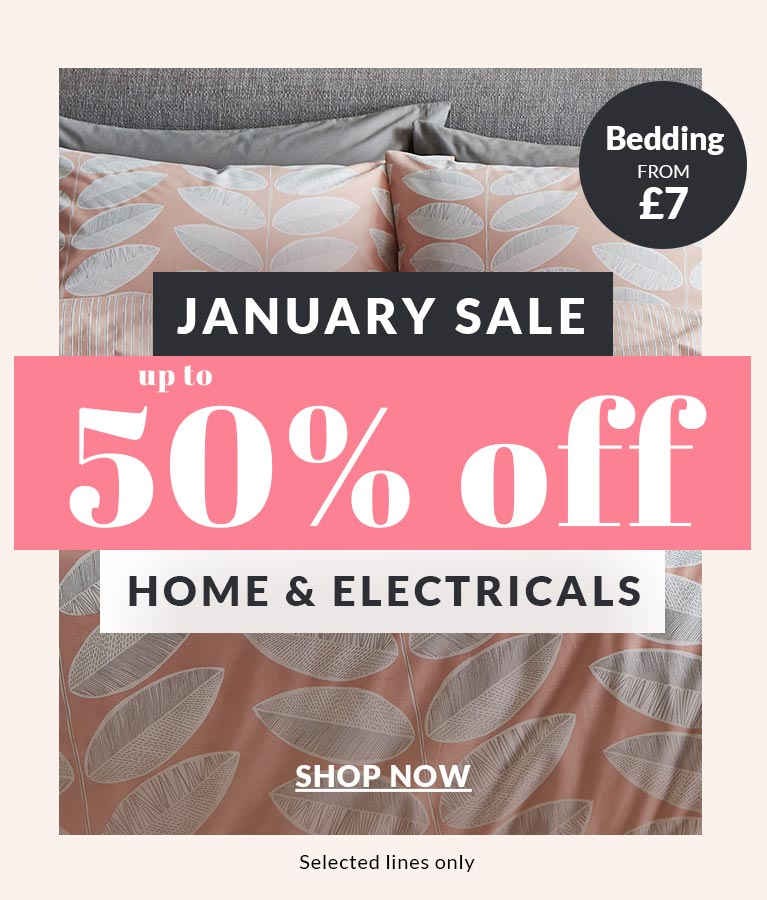 Up to 50% off January Sale - Shop Now