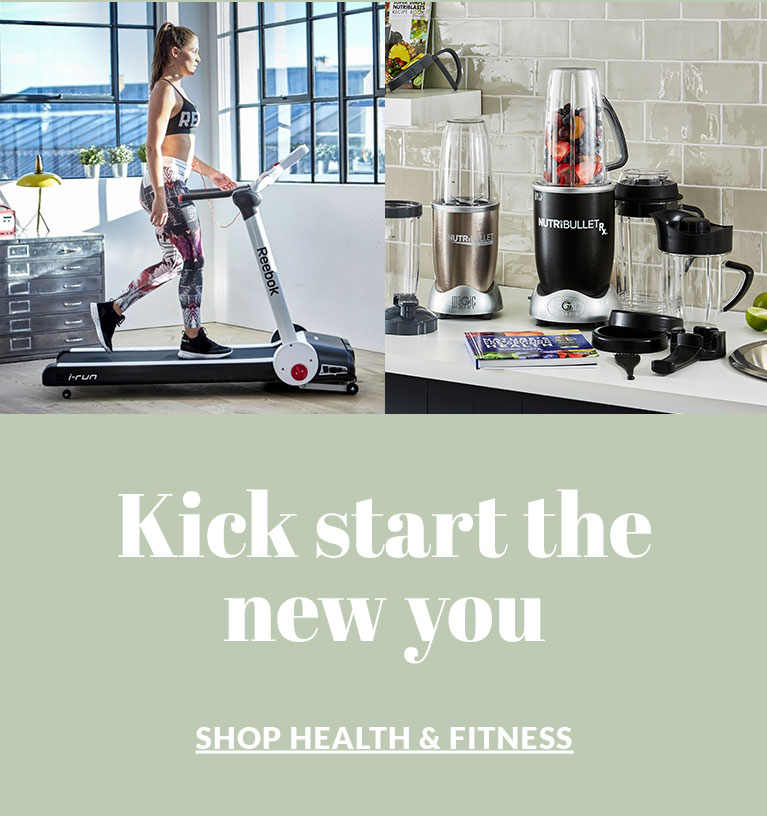 Kick start the new you - Shop Health & Fitness