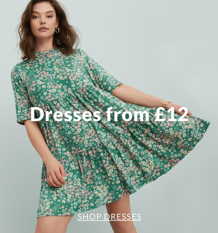 Dresses from £12