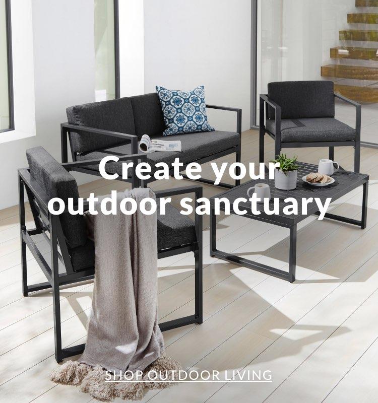 Create your outdoor sanctuary