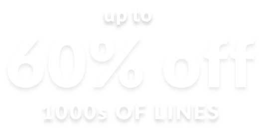 Wardrobe refresh up to 60% off 1000s of lines