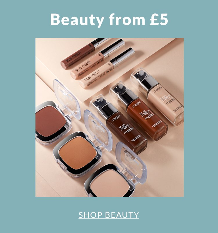 Beauty from £5
