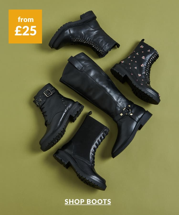 Shop boots from £25