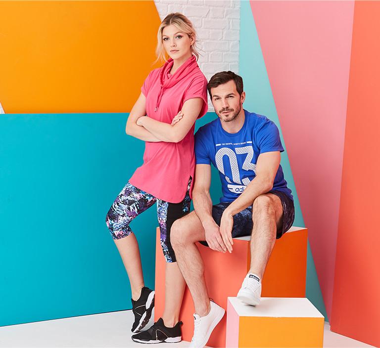 sportswear couple