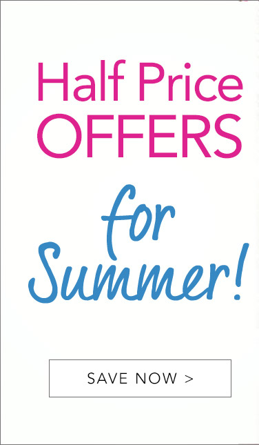 Half Price Offers For Summer