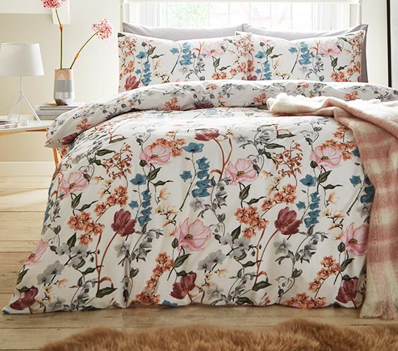 Flowery bed