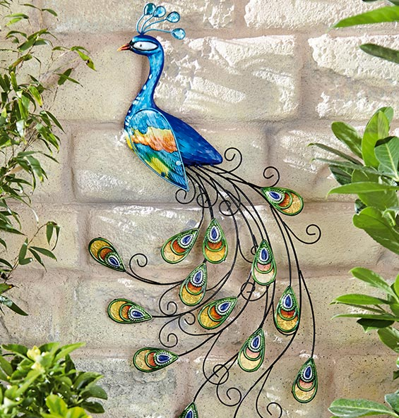 Peacock decor