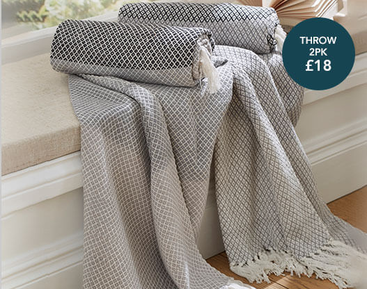 shop bedspreads and throws