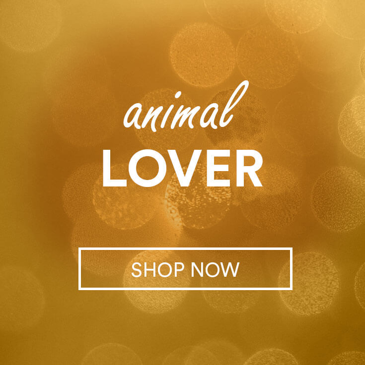 sparkles; text - animal lover