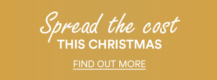 banner; text - spread the cost this christmas - find out more