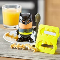 Batman boiled egg and toast cutter set