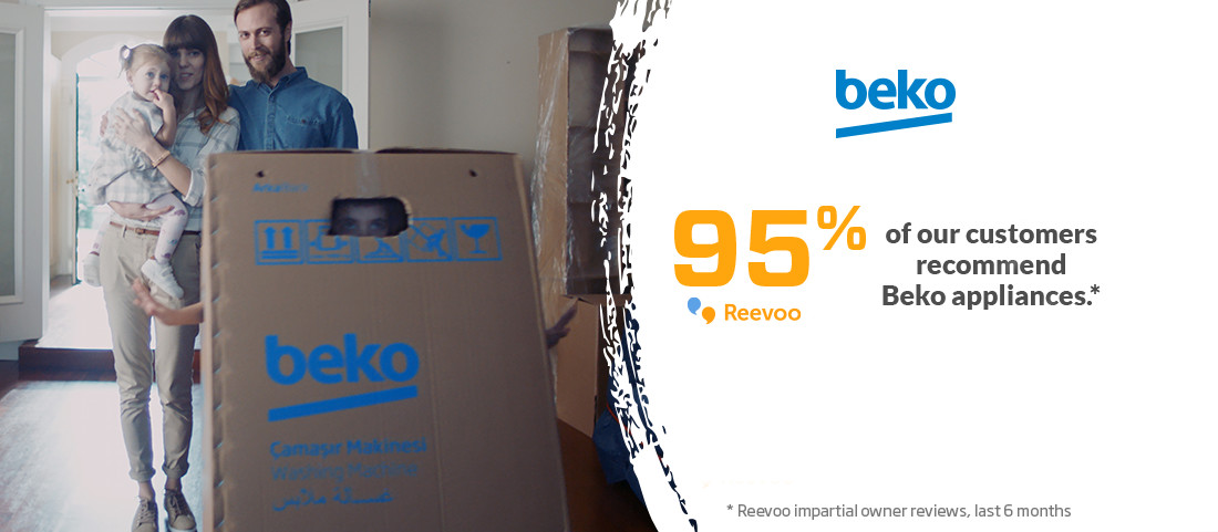 Beko - 95% of our customers recommend Beko appliances