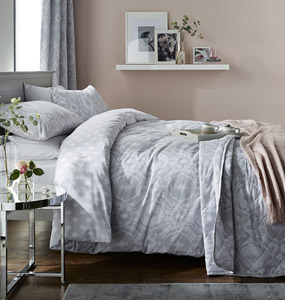 Aford Silver Bedding Collection