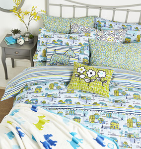 Helena Springfield Hometown Parade Bedding Collection