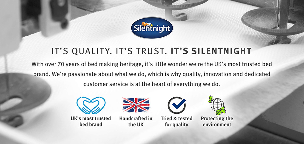 It's quality. It's trust. It's Silentnight