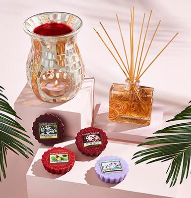 Flameless fragrances