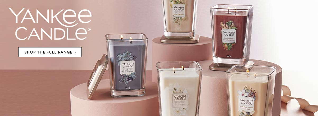 Shop the full Yankee Candle range