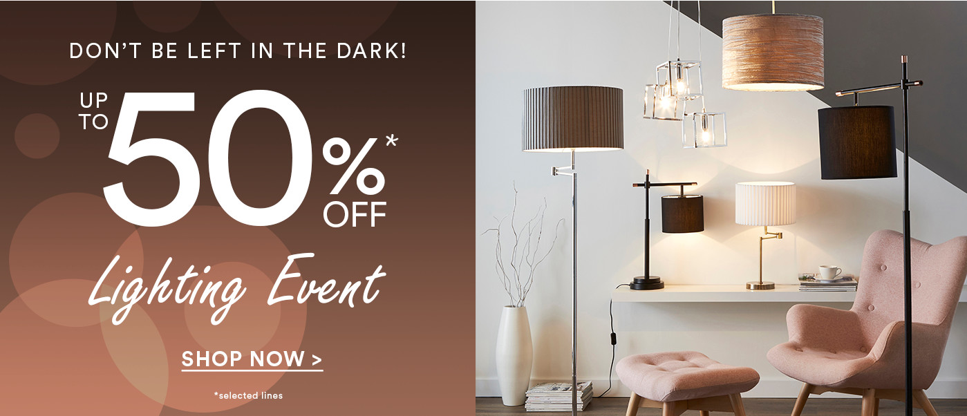 Up to 50% off Lighting Events