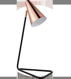 Sylvan Copper And Metal Table Lamp