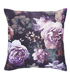 Dark Wonder Floral Cushion
