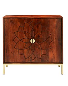 Acacia Wooden Cabinet